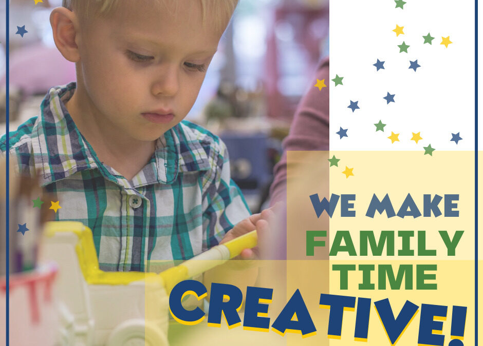 The health benefits of painting pottery with your family